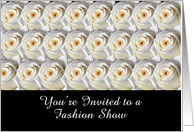 Two Dozen Roses, Fashion Show card