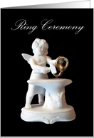 Ring Ceremony Cupid Invitation card
