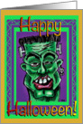 Happy Halloween! from frankendude card