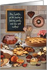 Baking Party Kitchen Invitation card