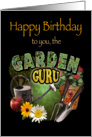 Happy Birthday Garden Guru card