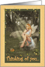 Thinking of you - Fairy card