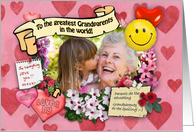 World's Greatest Grandparents card