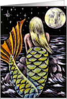 Moonlight Mermaid card