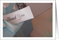 Thank You For Being a Part of our Special Day card