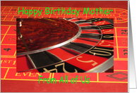 Mother happy birthday from All of Us Roulette Wheel card