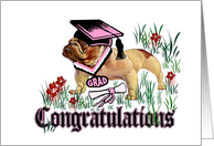 Graduation Congratulations for Her card