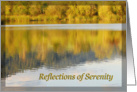 Reflections of Serenity 12 Step Recovery Encouragement card