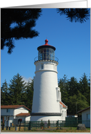 Umpqua River Lighthouse, Oregon card