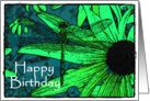Happy Birthday (dragonfly) card