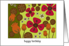 Poppy Pods- Birthday card