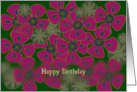 Poppies- Birthday card