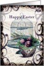 Happy Easter - Eggs and Birdcage card
