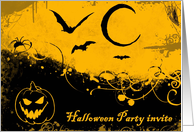 Halloween Invite card