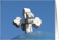 Greek Orthodox Church Cross card