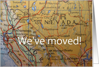 we've moved to Nevada card