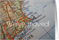 We've moved to Boston, Massachusetts card