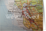We've moved to San Francisco card