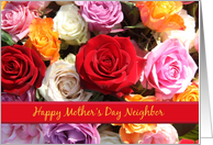 Neighbor Happy Mother's Day Rose Bouquet card