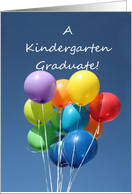 Kindergarten Graduation Announcement card