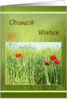 Chuseok Wishes - Harvest card