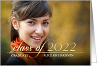 Class of 2017 Graduation Party Invitation Photo Card
