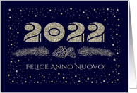 Felice Anno Nuovo 2017. Italian Happy New Year Card