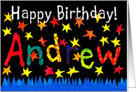 ''Andrew' Name-specific Birthday Card