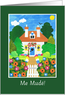 New Home Announcement Card - Spanish Greeting card