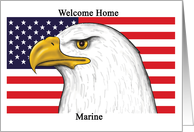 Welcome Home - Marine - Blank Card