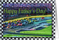 Happy Father's Day Auto Racing card