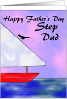 father's day step Dad card