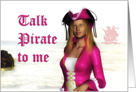 Talk Like a Pirate Day ~ September 19 card