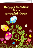 Happy Easter to Teen card