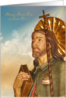 Happy Feast Day of St. Rocco - English Prayer Verse card