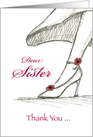 Dear Sister ,Thank you for being my Maid of Honor card