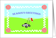 Season's Greetings - Lawncare / Landscaping card