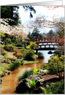 Mingus Park Choshi Garden, Coos Bay, Oregon, Blank Inside card