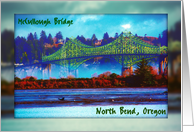 McCullough Bridge, North Bend, Oregon card