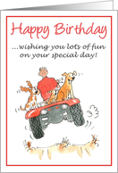 Happy Birthday - Wishing you lots of fun on your special day! card