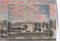 Orlando Florida LDS Temple card