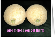 Nice Melons Breast Enlargement card
