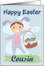 Happy Easter Cousin (Boy-basket) card