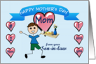 Happy Mother's Day Mom (from Son-in-law) card