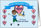 Happy Mother's Day Mom (African American)(from Son-in-law) card