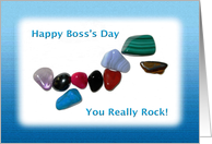Boss's Day You Really Rock card