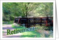 Retirement Congratulations Bridge From Coworkers card