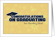 Congratulations on graduating card