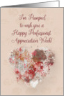 Happy Perfusionist Appreciation Week Watercolor Effect Heart and Pun card