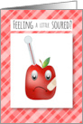 Sour Apple - Get Well card
